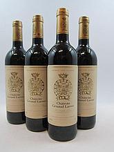 4 bouteilles CHÂTEAU GRUAUD LAROSE 1999 2è GC Saint Julien