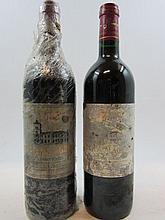 10 bouteilles CHÂTEAU LAGRANGE 1999 3è GC Saint Julien (étiquettes très abimées par l'humidité