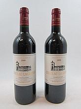 6 bouteilles CHÂTEAU LAGRANGE 1999 3è GC Saint Julien (étiquettes fanées)