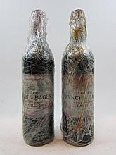 6 bouteilles CHÂTEAU LYNCH BAGES 1999 5è GC Pauillac (étiquettes très abimées