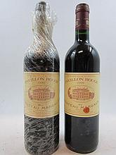 6 bouteilles PAVILLON ROUGE DU CH MARGAUX 1999 Margaux (étiquettes tachées