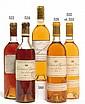 1 bouteille CHÂTEAU D'YQUEM 1990 1er cru Supérieur Sauternes (étiquette fanée) (photo)
