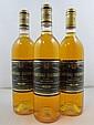 12 bouteilles CHÂTEAU GUIRAUD 1986 1er cru Sauternes