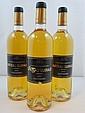 8 bouteilles CHÂTEAU GUIRAUD 2006 1er cru Sauternes (Etiquettes déchirées)