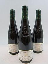3 bouteilles COTEAUX DU LAYON SAINT LAMBERT 1996 Clos des Bonnes Blanches