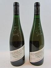 6 bouteilles SAVENNIERES ROCHE AUX MOINES 1996 Ch