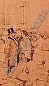 [Charpentier] G. Bigot & A. Castaigne 2 encres de chine - G. BIGOT : ENTREPOTS DE L'IMPRIMERIE CHA...