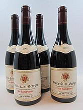 4 bouteilles 3 bts : NUITS SAINT GEORGES 2009 Les Hauts Poirets. Jayer Gilles