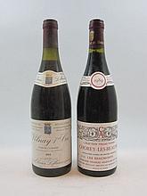 9 bouteilles 6 bts : CHOREY LES BEAUNE 1989 Vieilles Vignes Les Beaumonts. Domaine Charles Allexant