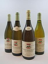 12 bouteilles 1 bt : PULIGNY MONTRACHET 1994 1er Cru Les Perrières. Louis Carillon et Fils (étiquette sale et tachée, léger déchirée)