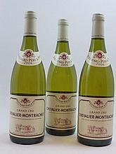 3 bouteilles CHEVALIER MONTRACHET 2006 Grand Cru