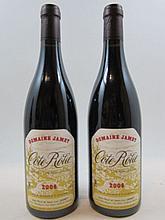 2 bouteilles COTE ROTIE 2006 Domaine Jamet