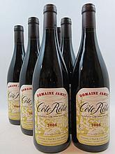 6 bouteilles COTE ROTIE 2008 Domaine Jamet