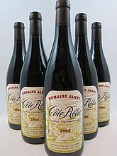 5 bouteilles COTE ROTIE 2008 Domaine Jamet