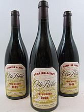3 bouteilles COTE ROTIE COTE BRUNE 2006 Domaine Jamet