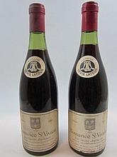6 bouteilles ROMANEE SAINT VIVANT 1964 Grand Cru Les Quatre Journaux
