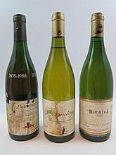 7 bouteilles 3 bts : HERMITAGE 1992 Robert Michelas (Blanc) (étiquettes et capsules abimées)