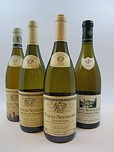 6 bouteilles 2 bts : CHASSAGNE MONTRACHET 1997 1er cru Abbaye de Morgeot. Louis Jadot (étiquettes abimées par l'humidité)
