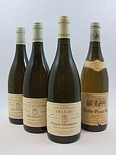 4 bouteilles 2 bts : MEURSAULT 1999 Baron de la Charrière