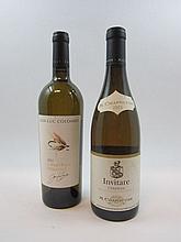 2 bouteilles 1 bt : CONDRIEU 2005 Invitare. M.Chapoutier (étiquette fanée)