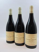 6 bouteilles CORTON CLOS DU ROI 1997 Grand Cru
