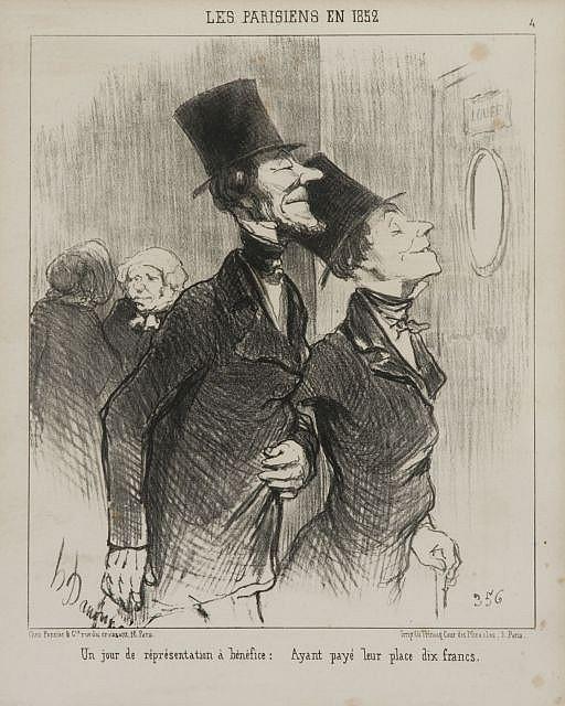 D'après Honoré Daumier Marseille, 1808 - Valmondois, 1879