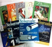 DIVERS 52 magazines Plumes, du numéro 2 au numéro 38 et Stylographe, dont 2 hors série.