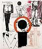 Raymond PETTIBON (né en 1957) SANS TITRE Acrylique, encre et mine de plomb sur papier