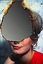 Douglas GORDON (né en 1966) SELFPORTRAIT OF YOU + ME (CATHERINE DENEUVE), AOUT 2007 Photographie en couleur calcinée sur miroir