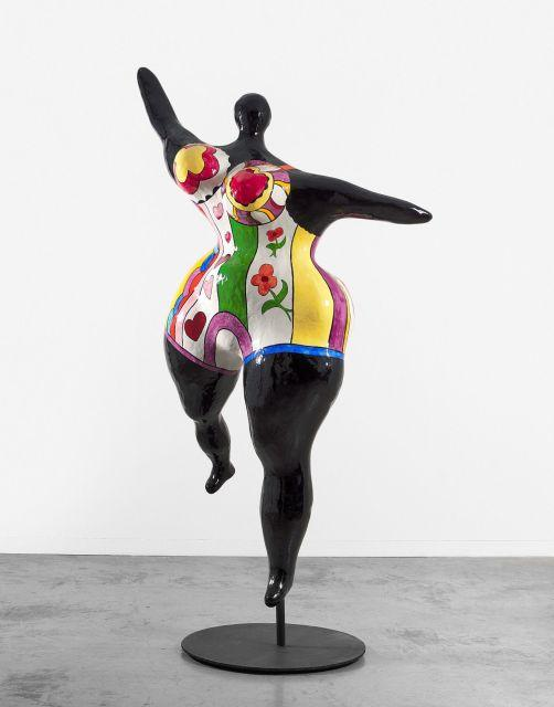 Niki de saint phalle 1930 2001 nana danseuse noire grande danseu - Maison niki de saint phalle ...