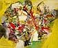 Alexandre ISTRATI (1915-1991) COMPOSITION, 1971 Huile sur toile
