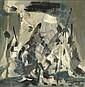 Selim TURAN (1915-1994) SANS TITRE Huile sur panneau