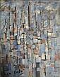 Jean CORTOT (Né en 1925) COMPOSITION, 1957 Huile sur toile
