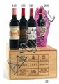 12 bouteilles CHÂTEAU LAFITE ROTHSCHILD 2002 1er GC Pauillac (photo)