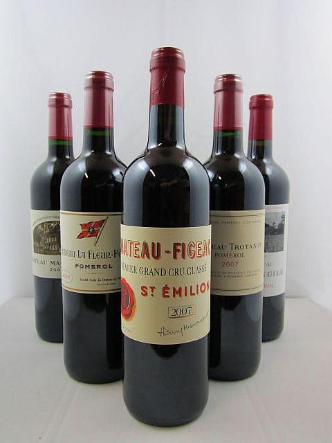 6 bouteilles 1 bt : CHÂTEAU TROTANOY 2007 Pomerol