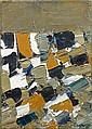 Jacques GERMAIN (1915-2001) COMPOSITION, 1969 Huile sur toile