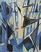 Antonio CORPORA (1909 - 2004) SANS TITRE, 1952 Gouache sur papier