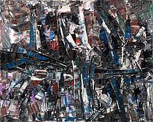 Jean-Paul RIOPELLE (1923-2002) ALEXANDROPOLIS - 1959 Huile sur toile