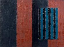 Sean SCULLY (Né en 1945) HARRIS - 1991 Huile sur toile