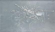 Georges MATHIEU (1921-2012) HIPPOCRATE - 1958 Huile sur toile