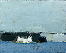 Nicolas de STAEL (1914-1955) PLAGE (PAYSAGE) - 1952 Huile sur toile