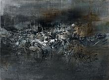ZAO WOU- KI (1920-2013) 26.01.60 - 1960 Huile sur toile