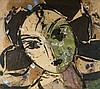Manolo VALDES (Né en 1942) ODALISCA VI - 2003 Technique mixte sur toile de jute
