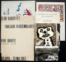 Jean Dubuffet - Art brut - Jean Dubuffet. Travaux d'assemblages. Galerie Rive Droite, avril-mai 1957. - Dubuffet Grafik. Musée d...