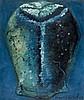 Francis PICABIA 1879 - 1953 COMPOSITION ou MASQUE - Circa 1946 Huile sur carton