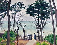 Albert MARQUET 1875 - 1947 LE JARDIN, PYLA - 1935 Huile sur toile