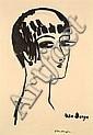 Kees Van DONGEN (1877-1968) LES CHEVEUX COURTS, 1924 - 1er état