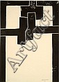 Eduardo CHILLIDA (1924-2002) BARCELONA I, 1971