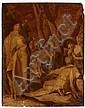 Abraham Bloemaert Gorinchem, 1564 - Utrecht, 1651 La Prédication de saint Jean-Baptiste Huile sur panneau de chêne, une planche