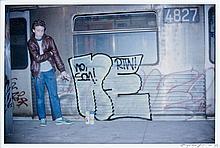Henry CHALFANT (né en 1940) MINONE IN CITY HALL, 1981 Tirage argentique postérieur